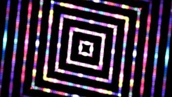 bucle de fondo dinámico hipnótico caleidoscópico multicolor video