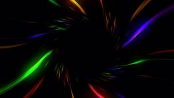 A multicolored-Abstract twirl zoom video