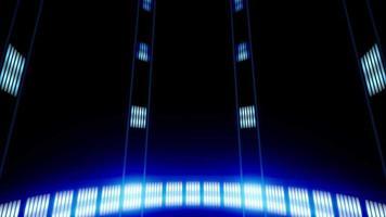 Futuristic Technology Cyber Elevator Loop video