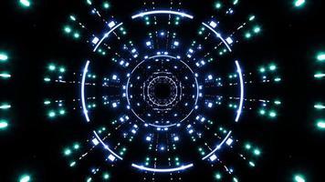 glödande neonljus disco vj loopar video
