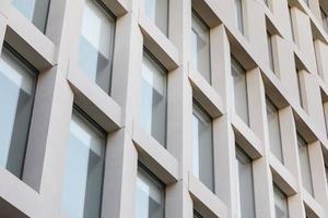 Cerrar edificio de oficinas textura detallada foto