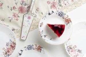 The elegant tea party composition photo