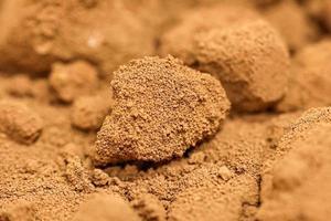 Pure gold precipitate in the foundry photo