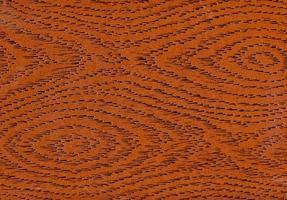 Fondo de textura de madera de cuero sintético marrón foto