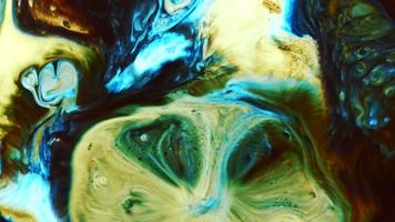 Abstract Colorful Ink Explode video