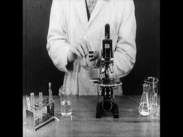 The division and growth of single-celled organisms - 1929 video