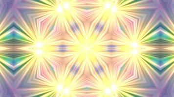 abstrakt strukturerad linjär geometrisk bakgrund kalejdoskop video