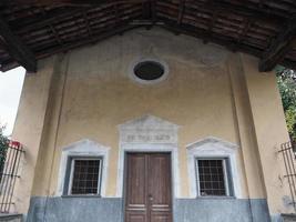 San rocco capilla saint roch en settimo torinese foto