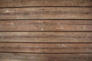 Brown wooden boards as a background texture photo