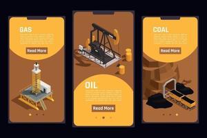 Natural Resources Set vector