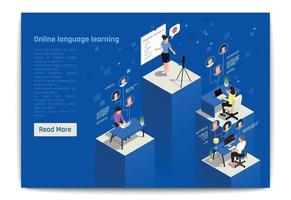 Language Learning Isometric Composition vector