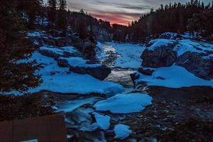 Elbow Falls Provincial Recreation Area, Alberta, Canada photo