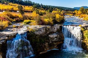 Lundbreck Falls Provincial Recreation Area, Alberta, Canada photo
