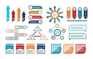 Flat Infographic Element vector