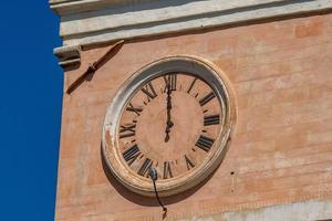 Clock a town hall photo