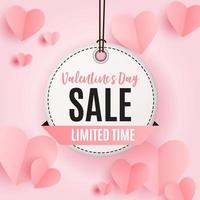 Valentine's Day Heart Symbol. Love and Feelings Background Design. vector