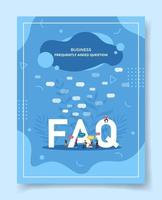 business frequently asked question people around word vector