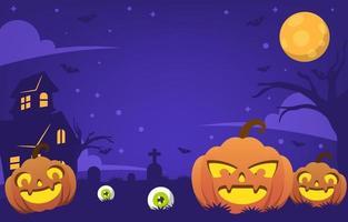 fondo de fiesta de halloween vector