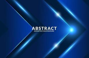 modern futuristic blue neon light background vector