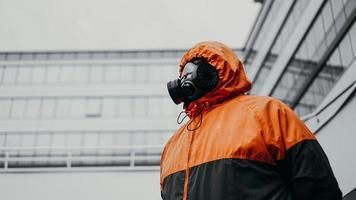 Protection respirator half mask for toxic gas photo