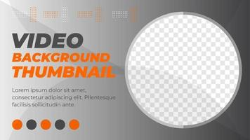abstract video thumbail vector