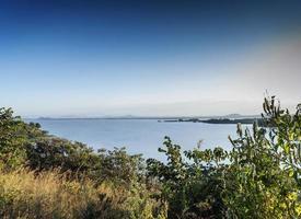 View of famous lake Tana near Bahir Dar Ethiopia photo