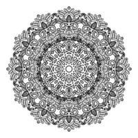 arabesque islamic mandala design of  floral pattern for muslim vector