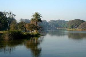 Lake and landscape photo
