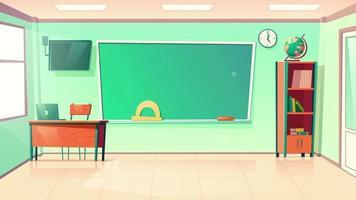 fundo de desenho animado - sala de aula temperamental video