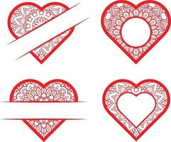 Vector Love Elements Collection Free Vector