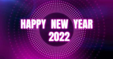 felice anno nuovo sfondo animato biglietto di auguri video