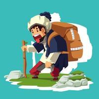 Outdoor Activity Traveling vector