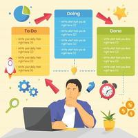 Mind Map Concept vector