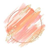 abstract hand painted watercolour frame background 2008 vector