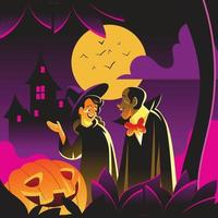 Trick or Treat Night vector