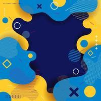 fondo de salpicaduras de color abstracto vector