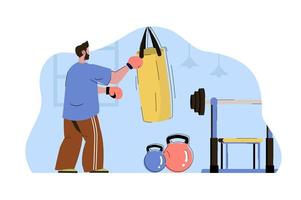 Work hard concept for website and mobile site vector