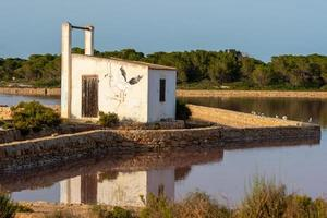 Ses Salines Natural Park on the Island of Formentera in Spain. photo