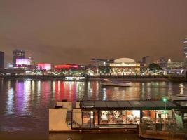 River Thames South Bank, London photo