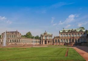 palacio zwinger en dresde foto