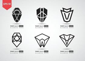 Set of logo Vector illustration