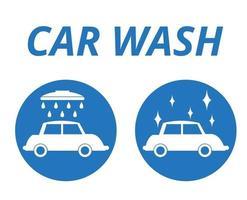 Car wash icons,  vector design