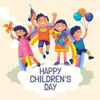 Happy Children's Day Concept vector