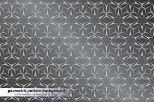 geometric pattern background art for creative creative graphic design vector