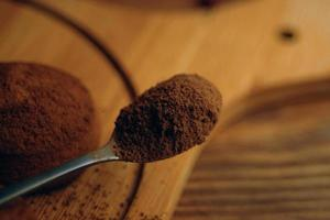 A spoonful of cocoa photo