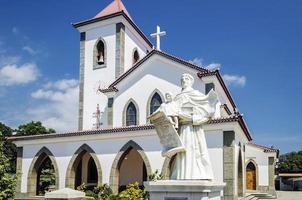 Portuguese Christian Catholic church landmark in central Dili City East Timor photo