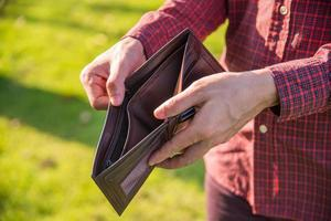 No money in wallet. photo