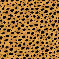 Cheetah skin seamless background texture pattern vector