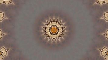 Abstract pattern 4K kaleidoscope video clip
