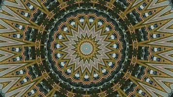 caleidoscopio hipnótico imágenes de archivo video